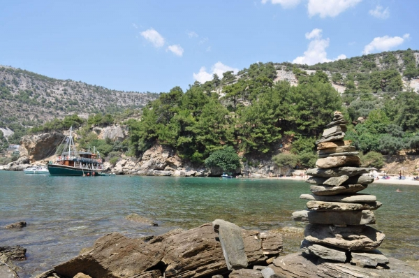 Arsanas Beach, Beaches of Thassos