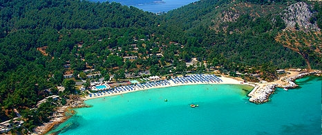Makryammos Beach, Beaches of Thassos