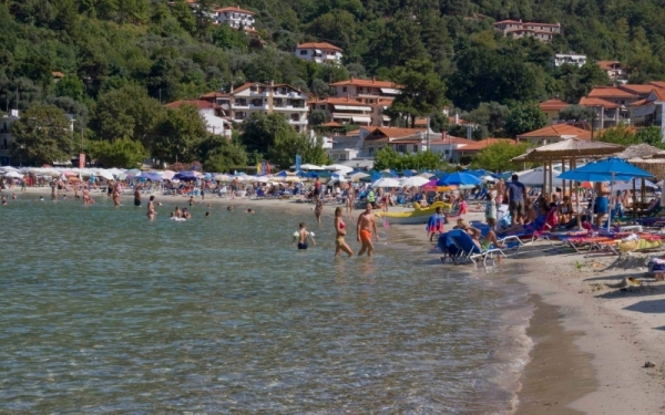 Salonikios Beach, Beaches of Thassos
